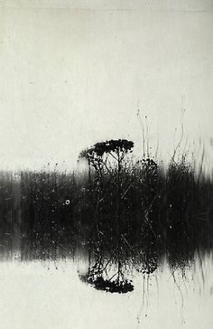 by Linda Vachon Abstract Landscape, Abstract Art, Etching Prints, Art Plastique, Art Sketchbook, Dark Art, Black And White Abstract, Printmaking, Watercolor Art