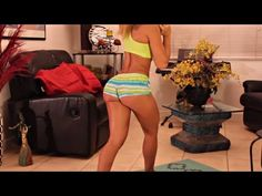 Vicky Justiz's Intermediate Butt and Leg workout - YouTube