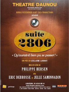 """Quand l'affaire DSK inspire une pièce de théâtre.. Découvrez """"suite 2806"""" au théâtre Daunou jusqu'au 23 décembre 2012 !"""