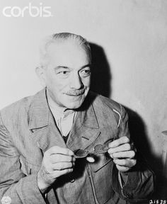 Konstantin von Neurath, former foreign minister and Reich protector of Bohemia and Moravia, waits in his cell at the city jail in Nuremberg. He was sentenced to fifteen years in prison at the Nuremberg Trails for war crimes committed during the Hitler regime.