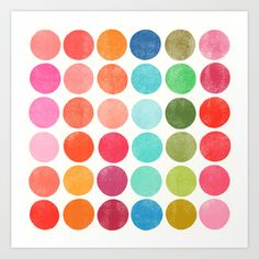 Colorplay+5+Art+Print+by+Garima+Dhawan+-+$18.00