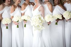 Photographer: Melissa White Bridesmaid Dresses, Bridesmaids, Wedding Dresses, Strictly Weddings, Unique Weddings, Wedding Weekend, Wedding Day, White Tie Wedding, Kc Events