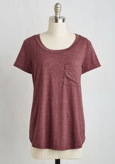 Committed to Coziness Tee From the Plus Size Fashion Community at www.VintageandCurvy.com