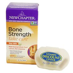 Bundle  2 Items 1 Bottle of Bone Strength Take Care By New Chapter  120 Tiny Tabs and 1 VDC Pill Box * You can find out more details at the affiliate link of the image.