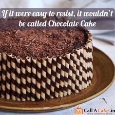 I will give some strawberry frosting #chocolate #cake. #food #callacake.in