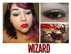 The Dark Side of Beauty - Diablo III Inspired Eye Makeup