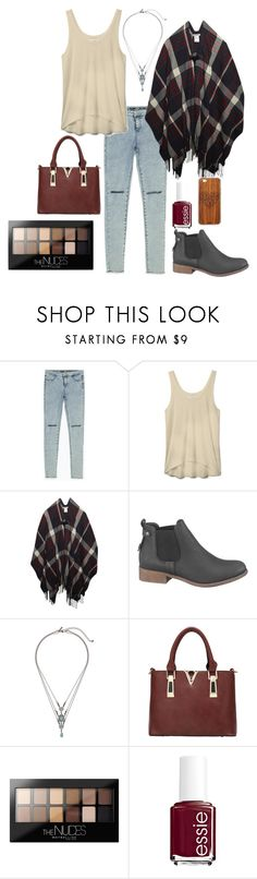 """""""Coffee Date"""" by cristina-unzicker on Polyvore featuring Zara, Rebecca Minkoff, Wet Seal, maurices, Topshop, Maybelline, Essie and Toast"""