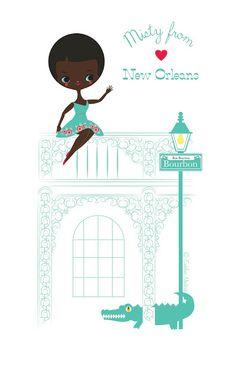 Eudeline Moutarde: New Orleans