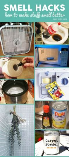 The best DIY projects & DIY ideas and tutorials: sewing, paper craft, DIY. Ideas About DIY Life Hacks & Crafts 2017 / 2018 Smell Hacks. DIY life hacks for fixing a stinky home or gross smelling house… -Read Diy Cleaning Products, Cleaning Solutions, Cleaning Hacks, Cleaning Room, Kitchen Cleaning, Bathroom Cleaning, Cleaning Quotes, Cleaning Schedules, House Cleaning Tips