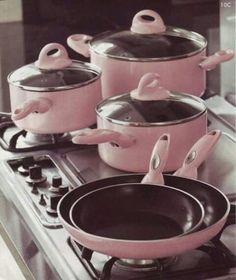 Pink pots & pans