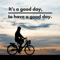 Don't ride a bike to add days to your life. Ride a bike to add life to your days! Have a great day! Cycling Tips, Road Cycling, Bamboo Bicycle, Partner Quotes, Bicycle Quotes, Bicycle Decor, Bike Life, Have A Great Day, Inspirational Quotes