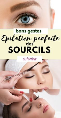 Eyebrow waxing: how to wax your eyebrows?- L'épilation des sourcils : comment épiler ses sourcils ? Eyebrows: What shape for my face, what method to depilate, gestures to avoid? All our beauty tips …. Eyebrow Beauty, Eye Makeup, Hair Makeup, Perfect Eyebrows, Tips Belleza, Beauty Women, Health And Beauty, Amazing Women, Beauty Hacks