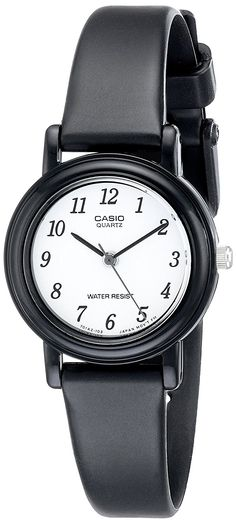 Casio Women's LQ139B-1B Classic Round Analog Watch -- Discover this special product, click the image