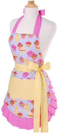 Hurry! Frosted Cupcake Apron $12.99 Shipped!