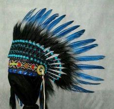 Kids Indian Headdress, Indischer Kopfschmuck Kinder, Coiffe Indien Enfant #Handmade Headdress, Indian, Clothing, Kids, Handmade, Accessories, Shoes, Indian Head Jewelry, Outfits
