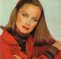 the face of Estee Lauder Karen Graham for two decades.