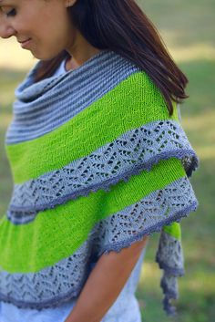 Ravelry: 3 Color Cashmere Shawl pattern by Joji Locatelli