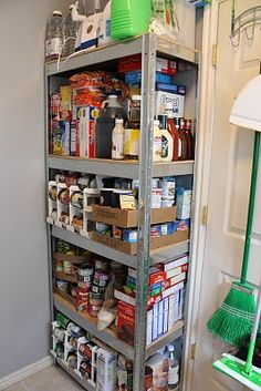 Emergency Prepper Pantry Food Stockpile Inspiration For Surviving An Apocalypse! Comparing Key Elements In Making A Pantry - Prepper Bob Emergency Preparedness Food Storage, Emergency Preparation, Emergency Supplies, Disaster Preparedness, Survival Prepping, Survival Gear, Emergency Kits, Family Emergency, Survival Shelter