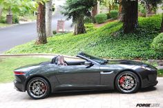 Jim Simpson's Jaguar F-TYPE convertible looks absolutely stunning on his new…