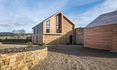 Richard's retired parents, Tony and Anne Pender, previously resided in a traditional farmhouse but needed a more modern home where they could comfortably age in place.