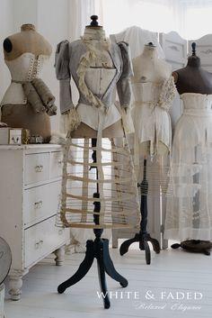 Antique dress forms