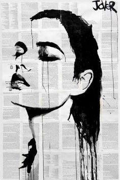 "Saatchi Art Artist Loui Jover; Drawing, ""inuit"" #art"