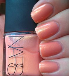 NARS - Orgasm great color in polish, blush, and gloss