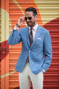 Saks Linen Blazer - He Spoke Style