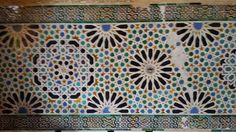 Alhambra tiles, Granada