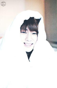 Jin ❤ so adorable >.<