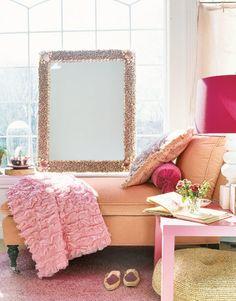 Mood Board Inspiration, Design Inspiration, Bedroom Inspiration, Dream Rooms, Dream Bedroom, Master Bedroom, Romantic Room, Coral, Pink Home Decor