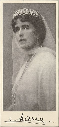 Queen Marie of Romania / The Fallen Czar, Women's Home Companion, 20 July 1920 Michael I Of Romania, Royal Crowns, Royal Tiaras, Romanian People, Maud Of Wales, Romanian Royal Family, Royal Queen, European History, King George