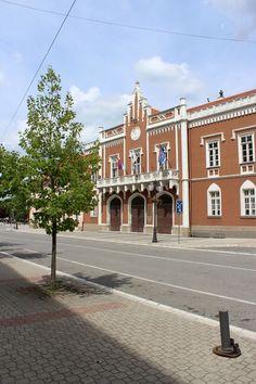 Gradska kuća - zgrada Opštine u Vršcu / City Hall in Vršac: