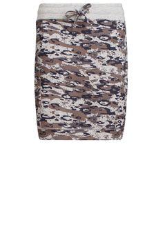 Camouflage rok