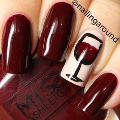 nail art wine tasting - Google Search