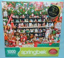 New Sealed Springbok 2013 Hallmark Classic Keepsakes 1000 Piece Christmas Puzzle