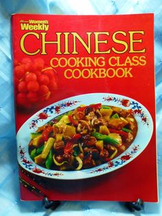 Vintage Australian Women's Weekly Cookbook - Chinese Cooking Class  Fully Illustrated, Easy to Follow Instructions for your Favourite Chinese Dishes!    Published in 1978 in Australia
