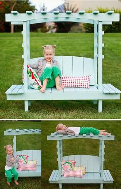 mommo design: WELCOME SUMMER - 5 ways to recycle pallets in the garden ~with just a bit of modification for safety this could also function as bunk bed~