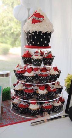 Rockabilly Hochzeit  Coole Tipps Ideen  Inspirationen  Tischdekoration zur Hochzeit