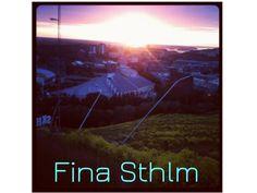 Stockholm -- summer view from the ski slopes in Hammarbybacken