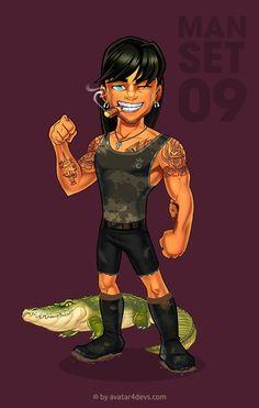 Avatar Creator, The Creator, Rodin Drawing, Batman The Animated Series, Cartoon Man, Mascot Design, Dress Hairstyles, Female Characters, Fictional Characters
