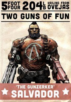 Wrestling-style Borderlands 2 posters - Imgur