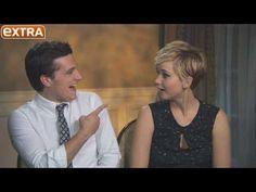 Josh Hutcherson Rates Jennifer Lawrence's Kissing Skills, Watch Her Reac...