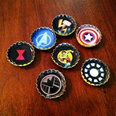Bottle cap art: How to make resin-filled bottle caps into jewelry, pins or pendants.