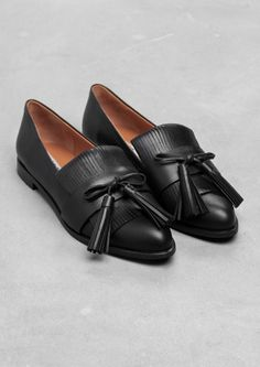 & Other Stories | Tassel Leather Flats