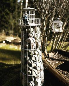 """32 tykkäystä, 0 kommenttia - BÅTSKIN (@batskinshop) Instagramissa: """"Majakanvartijan sanoin, kyllä tästäkin myrskystä selvitään!  Aurinko lämmittää ja kevät on…"""" Bird Feeders, Outdoor Decor, Instagram, Home Decor, Decoration Home, Room Decor, Interior Decorating"""