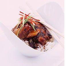 Delias anise oriental chicken   www.deliaonline.c... cooked