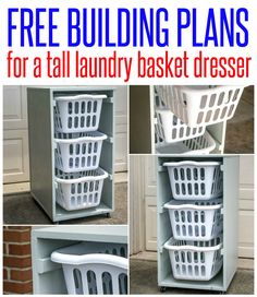 Laundry Basket Dresser For Sale Fair Diy Laundry Basket Dresseri Would Put Them Sidebyside Instead Of Design Decoration