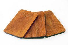 Three Teak sandwich plates by Karl Holmberg
