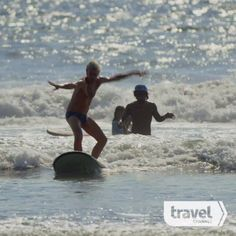 Stewart Copeland Tries to Surf at Kuta Beach, Bali
